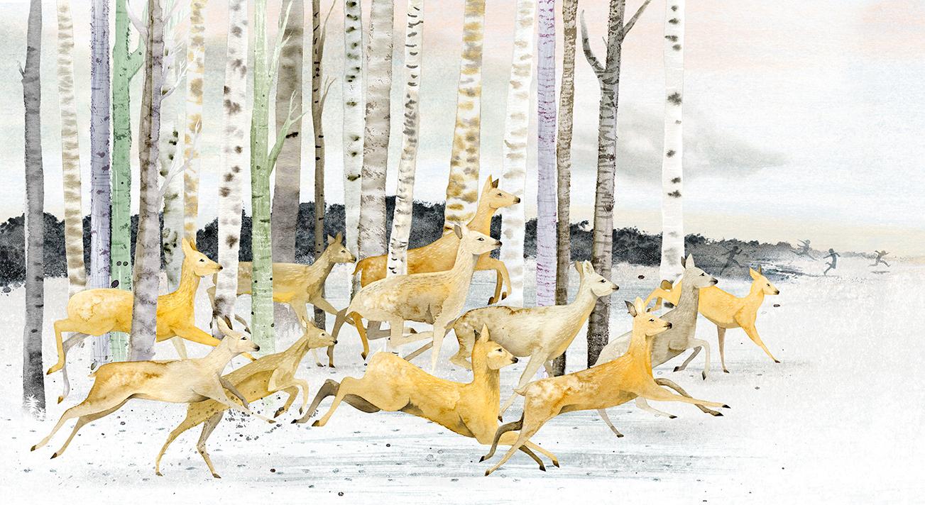 Deer by Dorien Brouwers